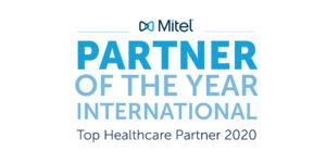 Mitel internationaal Healthcare partner van het jaar!